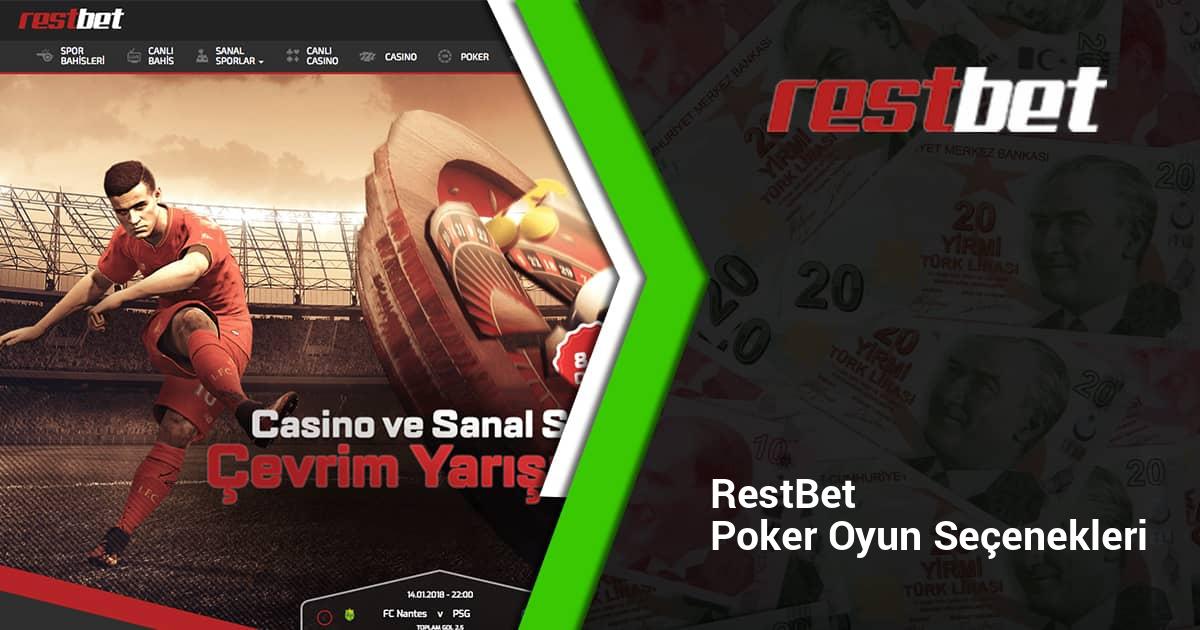 Restbet Poker Oyun Seçenekleri