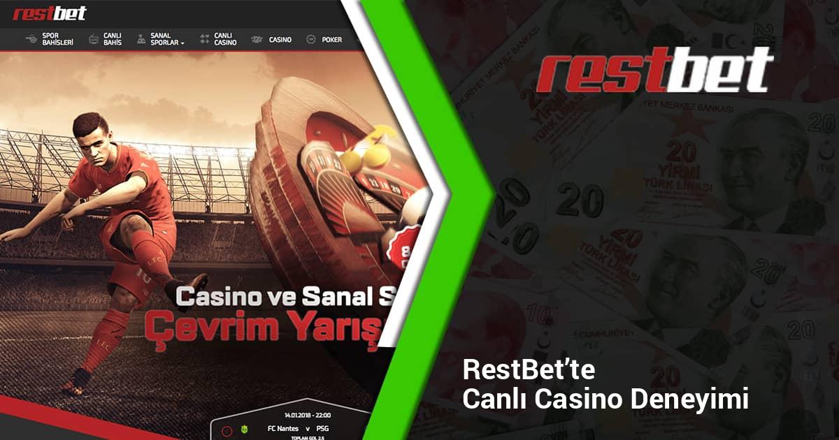 Restbet'te Canlı Casino Deneyimi
