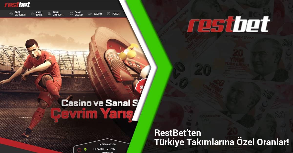 Restbet'ten Türkiye Takımlarına Özel Oranlar