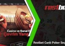 Restbet Canlı Poker Seçenekleri